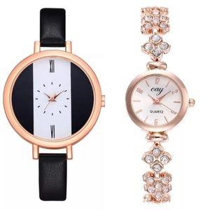 2 brand new ladies wrist watch